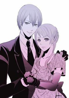 Vincent and Rachel Phantomhive | Kuroshitsuji / Black Butler #Anime