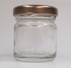 Nutley's 42ml Mini Glass Jam Jar (Pack of 12)