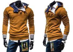 BOLF 06 - CAMELOWY CAMELOWY   On \ Bluzy męskie \ Bluzy z kapturem   Denley - Odzieżowy Sklep internetowy   Odzież   Ubrania   Płaszcze   Kurtki