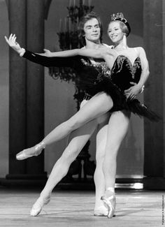 Como eu amei esse vídeo <3 Natalia Makarova e Rudolf Nureyev, Cisne Negro no Royal Ballet (1970)