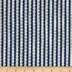 Artistry Navajo Southwest Basket Jacquard Navy Car Upholstery, Furniture Upholstery, French Dining Chairs, Navy Fabric, Home Decor Items, Basket Weaving, Fabric Patterns, Wall Design, Fabric Weights