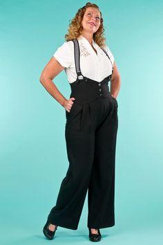 emmydesign - the miss fancy pants slacks. black jacquard