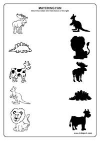 Animals Worksheets,Printable Worksheets for Kids,Activities Sheets