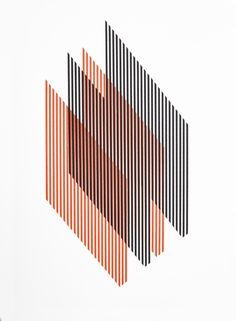 Lines II | Obra gráfica de Christian Schmitz | Flecha