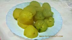 Patatas Guti: Receta: Tortilla de patata cocida y calabacín
