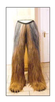 Homemade Chewbacca Suit