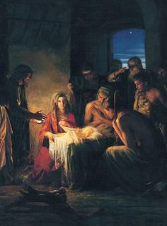 Nativity, by Carl Bloch