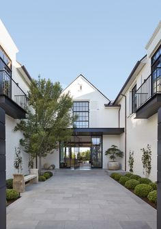courtyard entry by McALPINE