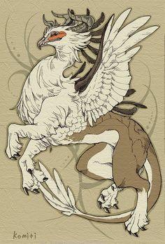 horn griffin by komiti.deviantart.com on @deviantART: