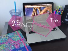 You're in college and you've got a lot to do, so ramp up your productivity with these helpful tips and tricks!