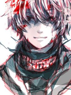 Even though I've lost the ability to, I'll try to smile because you asked me to. Kaneki Ken - Tokyo Ghoul