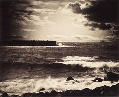 "Gustave Le Gray / ""La Grande Vague"", ""The Great Wave"", 1857"