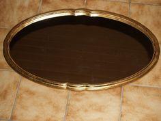 """Spiegel Oval Rand """"gewellt"""""""