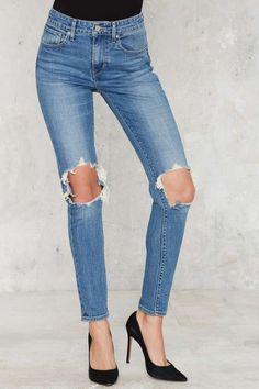 Levi's 721 Jeans - Riptide | Shop Clothes at Nasty Gal!
