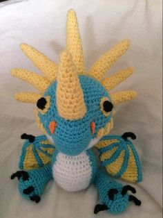 (4) Name: 'Crocheting : How to Train Your Dragon Stormfly