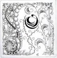 Resultado de imagen de zentangle fairy
