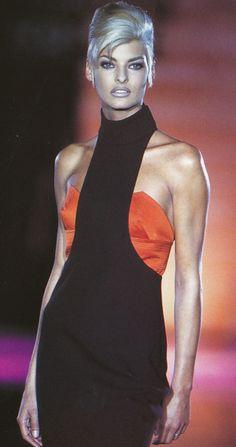 Linda for Versace, f/w 1991/92