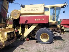 New Holland TR70 combine salvaged for used parts. This unit is available at All States Ag Parts in Salem, SD. Call 877-530-4010 parts. Unit ID#: EQ-24082. The photo depicts the equipment in the condition it arrived at our salvage yard. Parts shown may or may not still be available. http://www.TractorPartsASAP.com