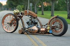 STEAMPUNK RAT BIKE !