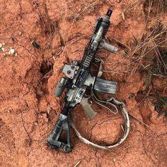 Airsoft Guns, Weapons Guns, Guns And Ammo, Ar Rifle, Ar 15 Builds, Ar Pistol, Custom Guns, Cool Guns, Assault Rifle