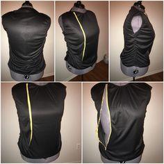 Audaz front zipper top