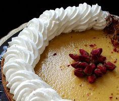 Pınar's Desserts: Gül Kokulu Vanilyalı Tart