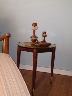 One of Three Stacking Side Tables. Mid Century