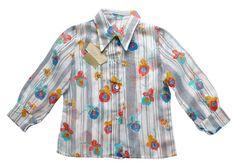 VINTAGE 60/70's / enfant / chemise / tissu par Prettytidyvintage