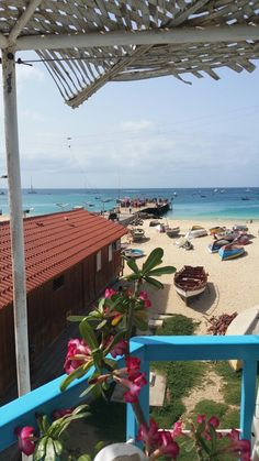 Cape Verde Santa Maria. Beautiful beaches.