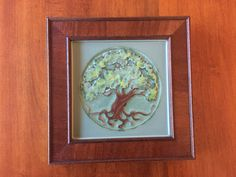 Rookwood Pottery 8 x 8 Tree of Life Tile