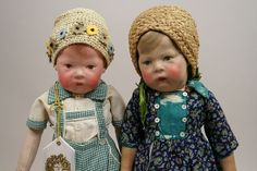 Two Great Kathe Kruse # 1 Dolls by alwayslooking2buy, via Flickr