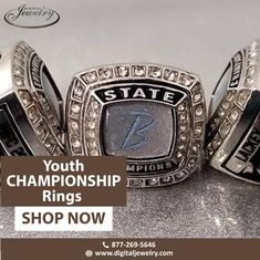 Flaunt your fingers accessorized with youth championship rings among your friends. To shop now, visit Digital Jewelry Forms Of Communication, Championship Rings, Free Quotes, Be Yourself Quotes, Fingers, Class Ring, Shop Now, Youth, Digital