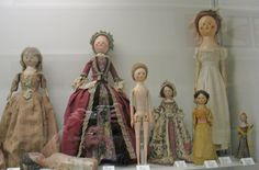 Northdixie Designs: Antique Wooden Queen Anne Dolls at the Strong Museum