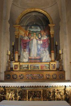 Pala San Benedetto l'abbazia di Santa Croce