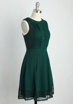 Dresses - Dresses For Women : Wants Upon a Time Dress. Satisfy your desire for adding fairytale style into your daily wardrobe with this dark green dress! Unique Dresses, Stylish Dresses, Casual Dresses, Fashion Dresses, Dresses Dresses, Pakistani Fashion Casual, Pakistani Dress Design, Pakistani Dresses, Designs For Dresses