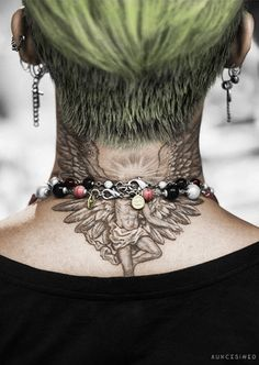 GD's Nape Tattoo Colored Version