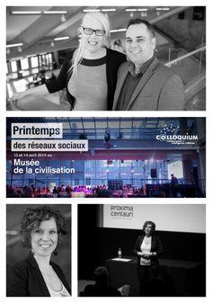 Myrka Maheux, Rémi Lachance et Émilie Trempe - Colloque des médias sociaux 2016