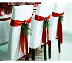 SODIAL(R) White Christmas Home Door Window Ornaments Christmas Decoration Xmas Tree Hanging Decor, A wreath with a bow-knot - My Cute Christmas Noel Christmas, Winter Christmas, Christmas Stockings, Christmas Wedding, Outdoor Christmas, Simple Christmas, Fall Wedding, Xmas Wedding Ideas, Christmas Ribbon