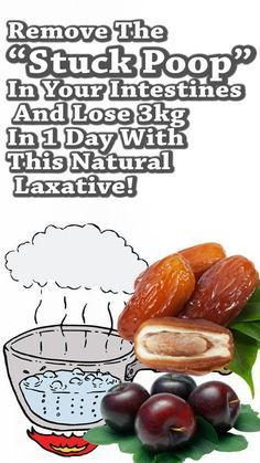 "Remove The ""Stuck Poop"" In Your Intestines And Lose 3kg In 1 Day With This Natural Laxative!"