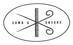 Comb & Shears log by Alvin Lustig 1949