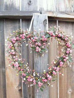 #love #flowers #couronne