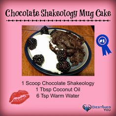 So I had a huge chocolate craving and was really wanting some cake. I decided to try a microwave mug cake but not just any mug cake, one th...