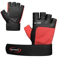 Homme Demi Doigt Gym Gants Haltérophilie Cuir Véritable Body Building Gloves