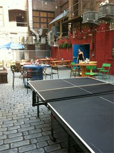 Nestled between Sansom and 13th streets in Philly, Opa's Drury Beer Garden is an ever-popular spot featuring overhead twinkle lights, game nights, food, beer and more. (Photo courtesy Opa)
