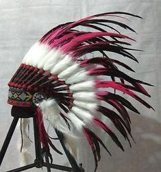 Indian Headdress in Newborn Size / Neugeborenes Federhaube Indianer Kopfschmuck War Bonnet, Native American Indians, Headdress, Photoshoot, Baby, Indian Head Dresses, Hoods, Kids, American Indians