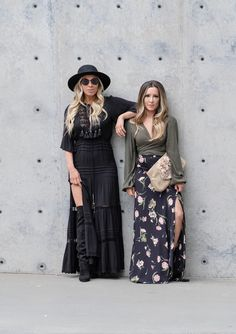 Boho vibing with my girl @heelsandhugs in our @flynnskye -- and singing  When you get where you're going don't forget turn back around help the next one in line always stay humble and kind. Hales x Misty x @shopplanetblue @liketoknow.it http://liketk.it/2qlui #liketkit