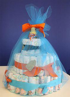 Sugar Shout Out: Diaper Cake Decor!