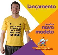 Camiseta Seta e Exame : Dar seta no Trânsito é como fazer exame de Próstata, basta somente um Toque.  http://www.camisetasdahora.com/p-4-109-4121/Camiseta---Seta-e-Exame | camisetasdahora