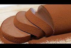 How to make chocolate mousse cake【simple recipe】なめらかチョコレートムースケーキ【簡単♪ゼラチン. Easy Chocolate Desserts, Chocolate Mousse Cake, How To Make Chocolate, Chocolate Recipes, Homemade Desserts, Chocolate Pudding, Sweets Recipes, Cooking Recipes, Quick Recipes