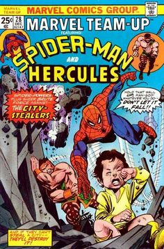 Marvel Team-Up #28 - The City Stealers!